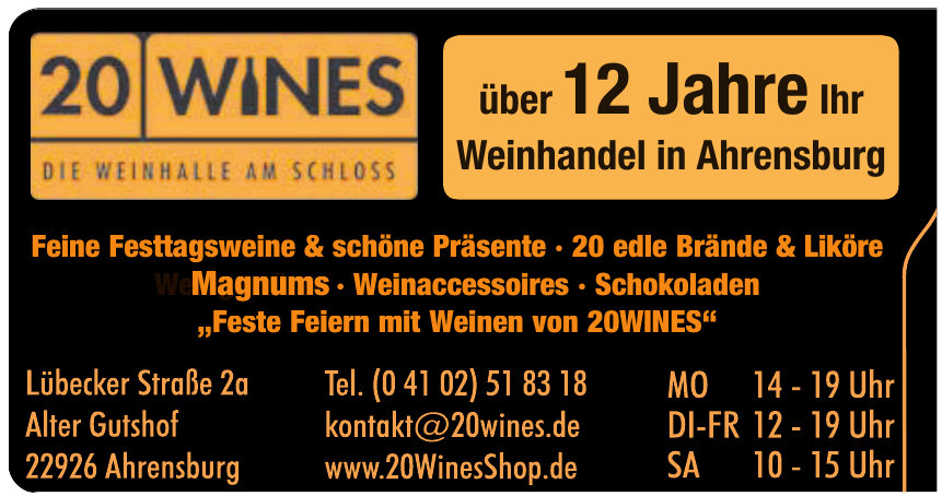 20 Wines Shop