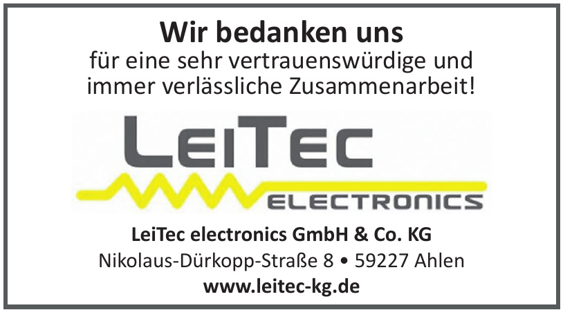 LeiTec electronics GmbH & Co. KG
