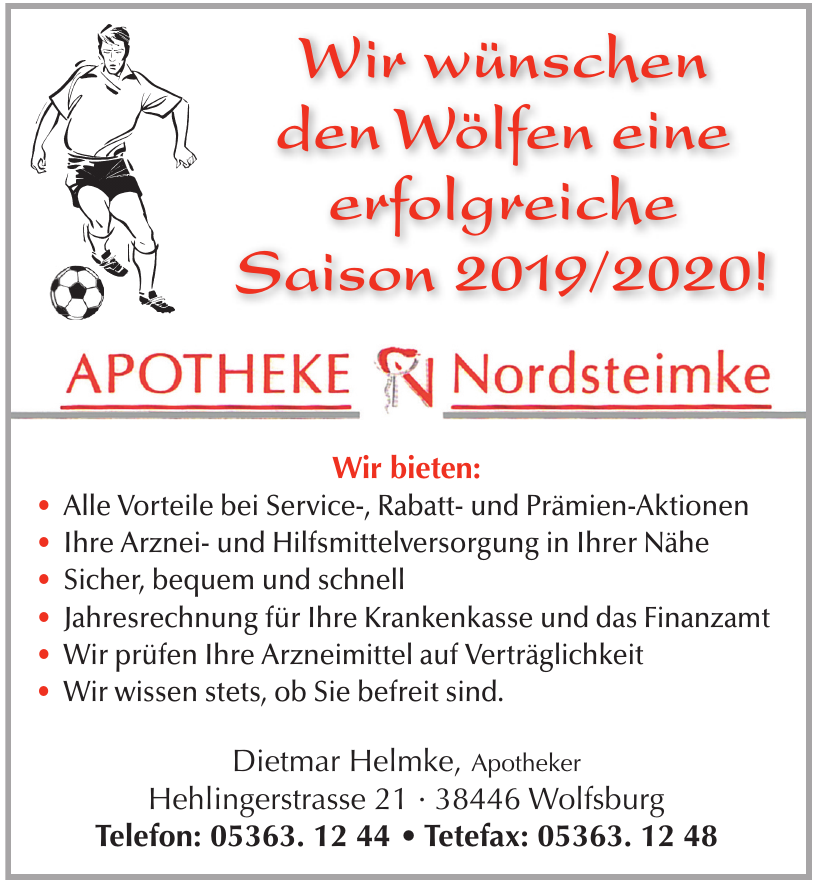 Apotheke Nordsteimke, Dietmar Helmke e.K.