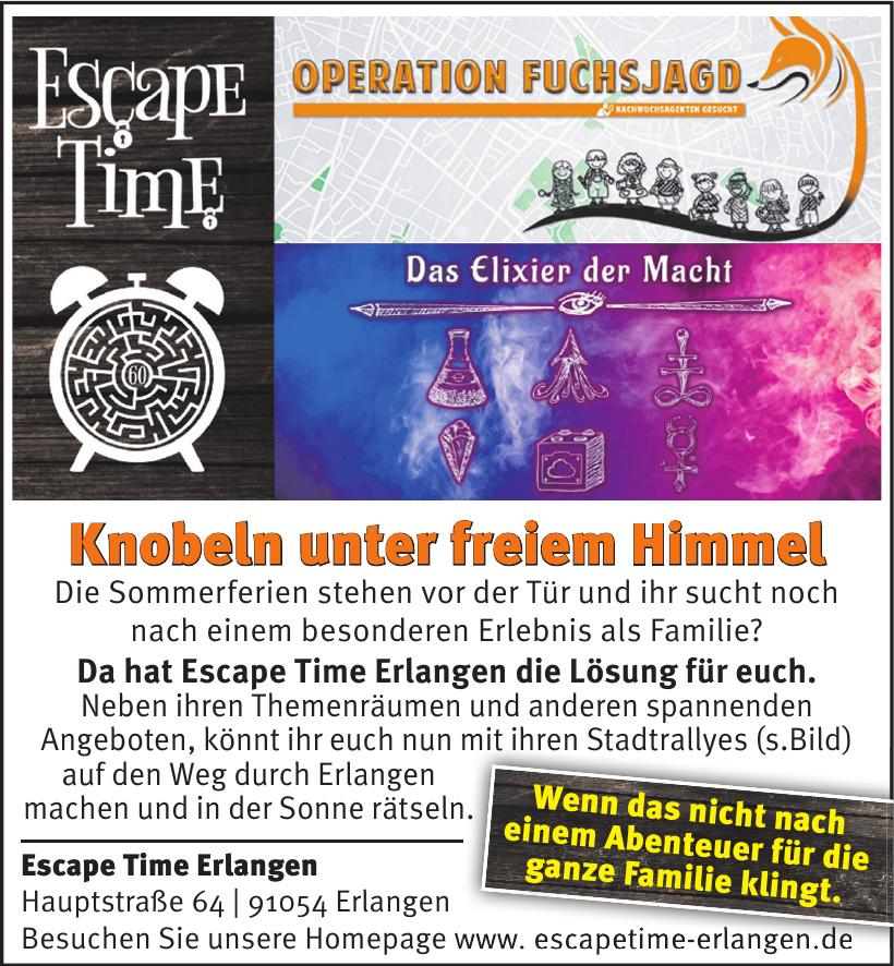 Escape Time Erlangen