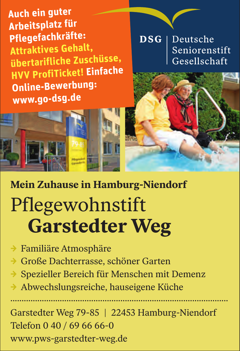 Pflegewohnstift Garstedter Weg