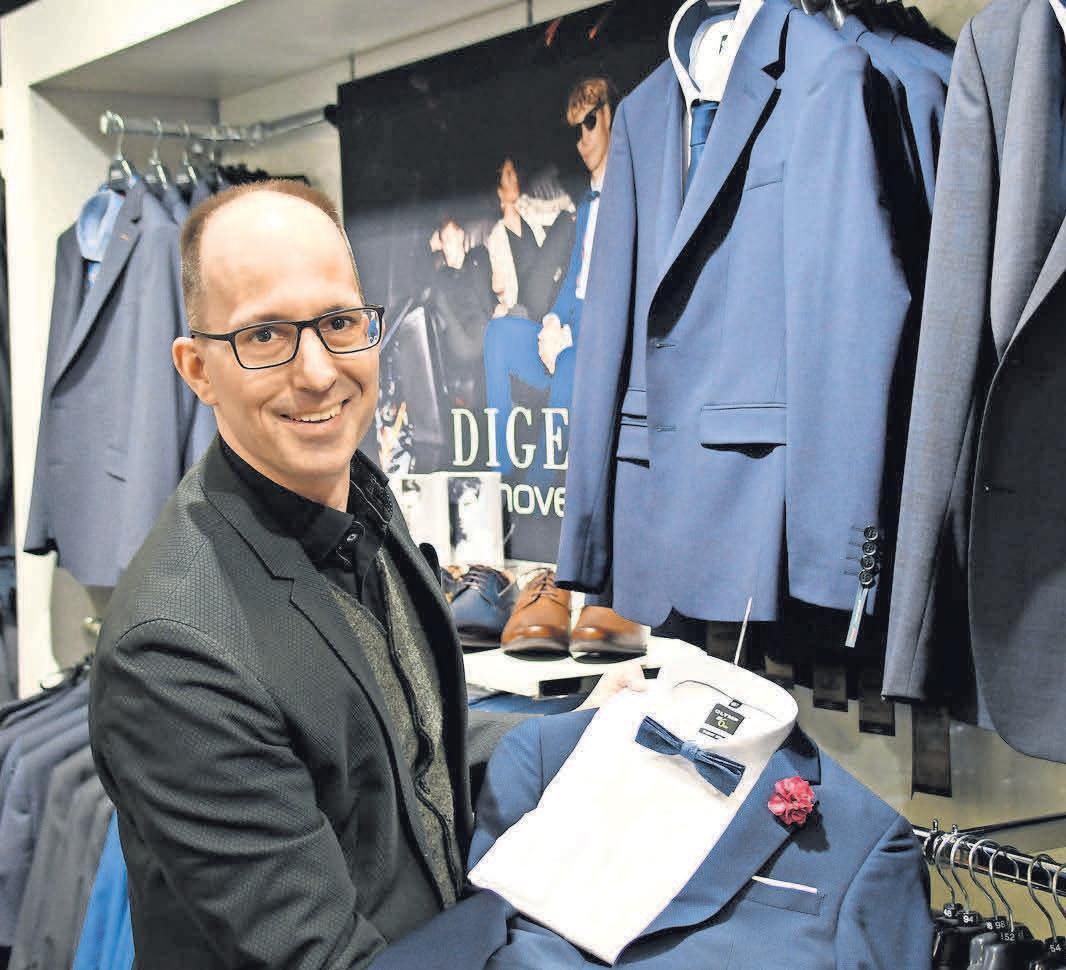 Markus Mai bietet Erfahrung und Vielfalt bei der Wahl des Konfirmations-Outfits.