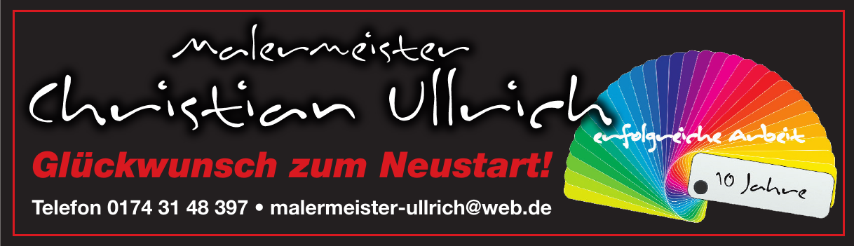 Malermeister Christian Ullrich