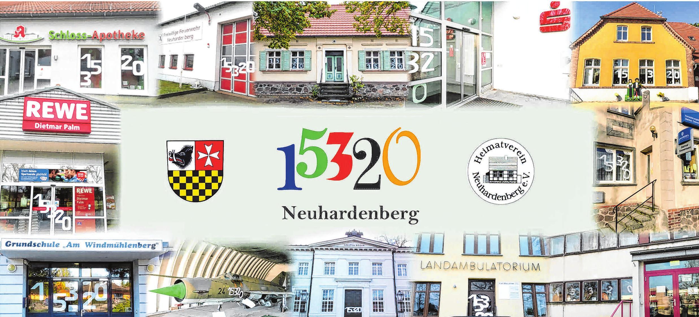 Mit dieser Postkarte wirbt Neuhardenberg für das Jahrhundertdatum, das am kommenden Wochenende mit einem großen Fest gefeiert wird. Foto: Repro