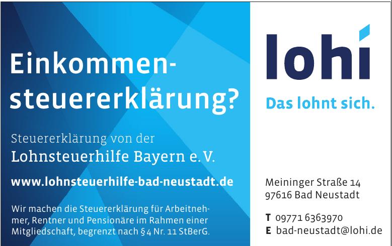 Lohi Bad Neustadt
