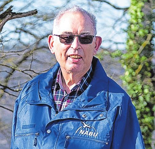 Horst Schulz kam 1969 zur Bad Friedrichshaller Nabu-Ortsgruppe, war 29 Jahre erster Vorsitzender.