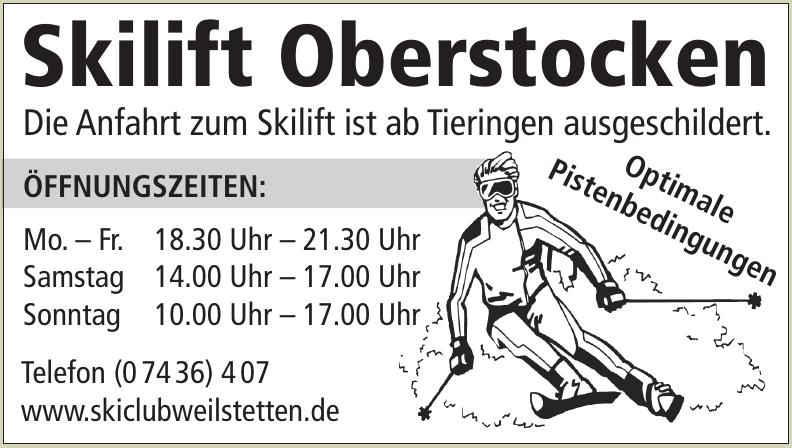 Skilift Oberstocken