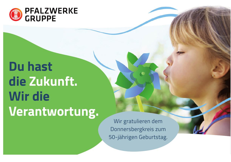 Pfalzwerke Gruppe - Donnersbergkreis zum 50-jährigen Geburtstag