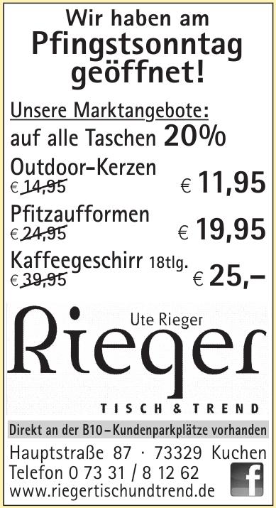 Ute Rieger Tisch & Trend