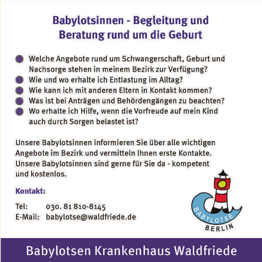 Babylotsen Krankenhaus Waldfriede