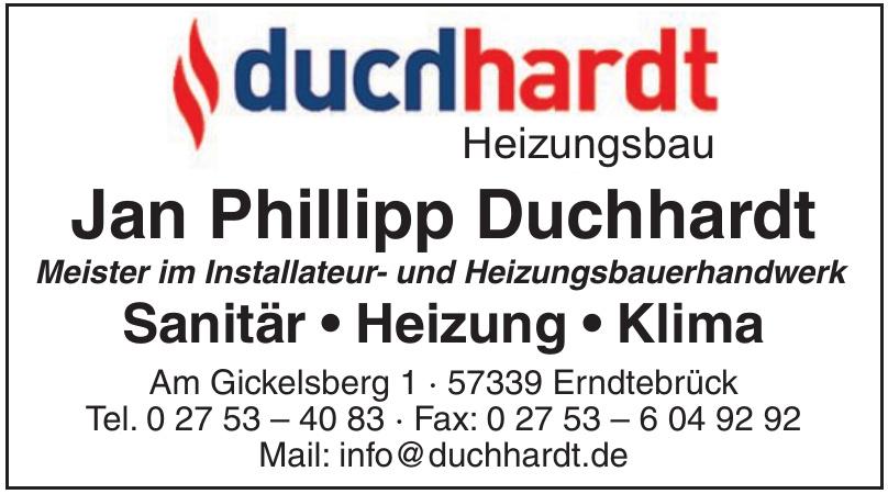Jan Phillipp Duchhardt Meister im Installateur- und Heizungsbauerhandwerk