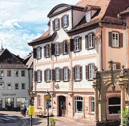 """""""Webers Paneria!"""" ist am Marktplatz in Bad Mergentheim zu finden."""