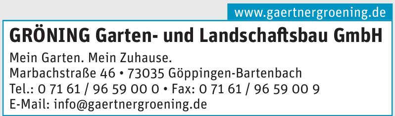 Grönning Garten- und Landschaftsbau GmbH