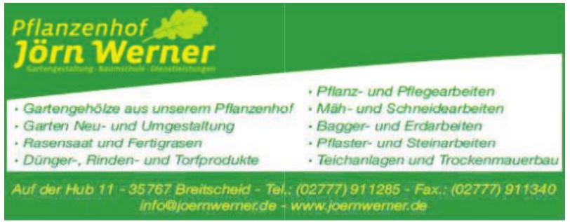 Pflanzenhof Jörn Werner