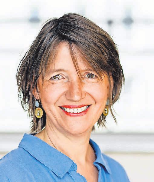 Karin Borck, Professorin für Sozial- und Bildungswissenschaften an der FH Potsdam. Foto: Andrea Hansen/ FH Potsdam