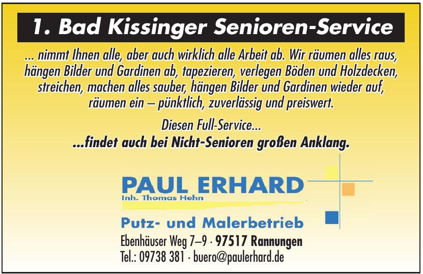 Paul Erhard Putz- und Malerbetrieb