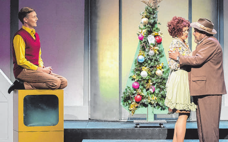 """Mit zur Wahl bei dem 3 aus 9 Weihnachtsspecial: Das Stück """"Catch me if you can"""". FOTO: TH"""