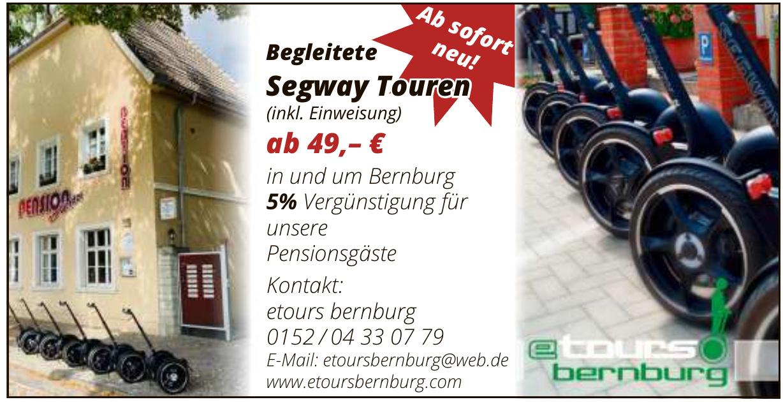 Tours Bernburg