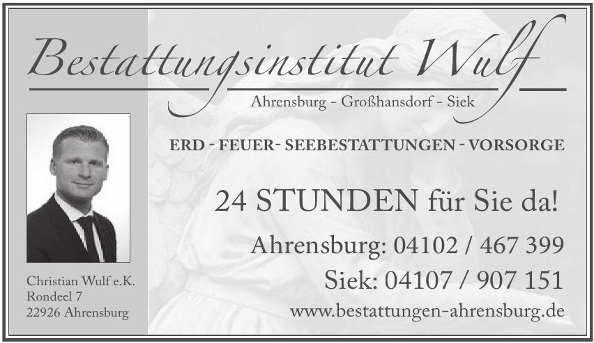 Bestattungsinstitut Wulf