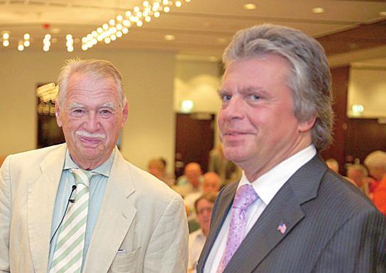 Professor Dr. Wilhelm Hankel und Wolfgang J. Kunz (Fachkongress 2009)