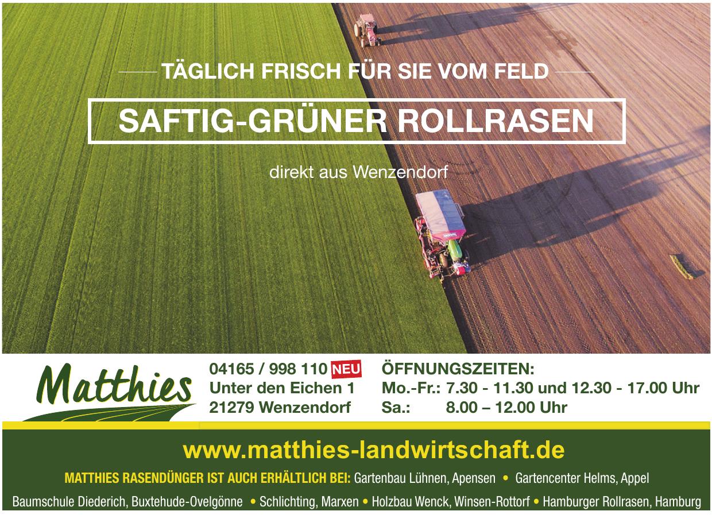 Matthies Landwirtschaft