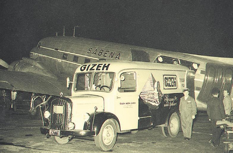 GIZEH Export in den 50iger Jahren