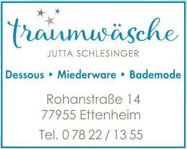 Traumwäsche Jutta Schlesinger