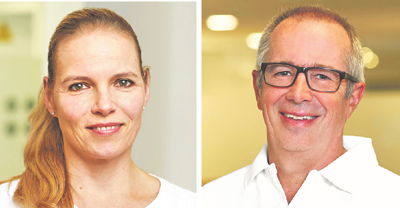 Leiten die Facharztpraxis in Grosshansdorf: die Hautärzte Dr. Julia Maerker-Stroemer und Dr. Christian Müller