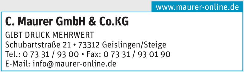 C. Maurer GmbH & Co.KG