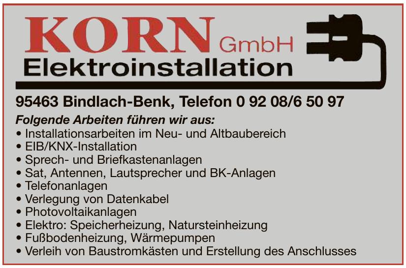 Korn Elektroinstallation GmbH