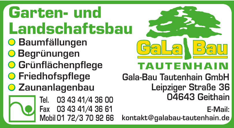 Gala-Bau Tautenhain GmbH