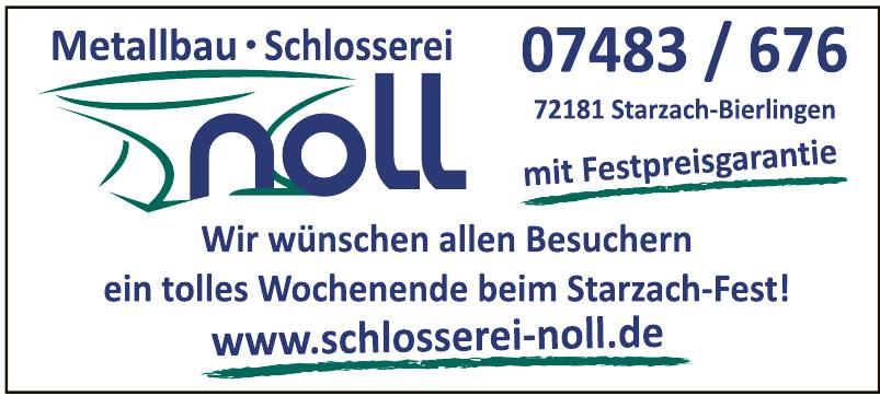 Geländerbau Schlosserei Noll