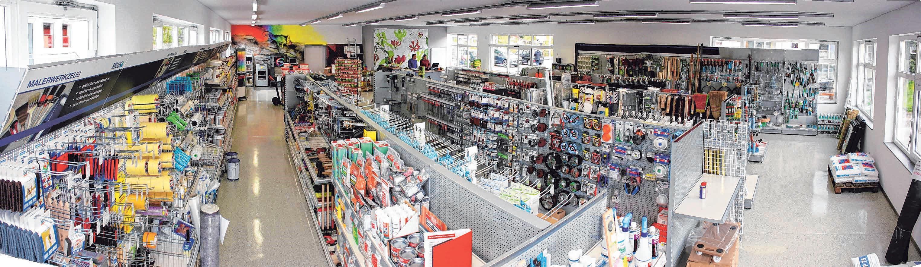 Der BauFachMarkt Huchler hat für Sie geöffnet. Foto: Huchler