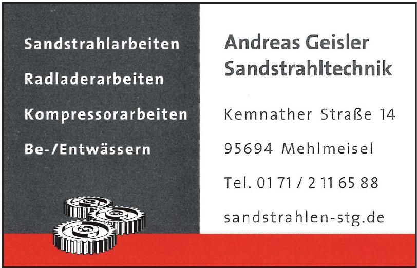 Andreas Geisler Sandstrahltechnik