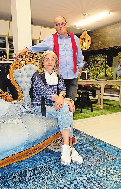 Bieten Jeans und weitere Mode: Brigitte und OtwinWadle. ARCHIVFOTO: TKN