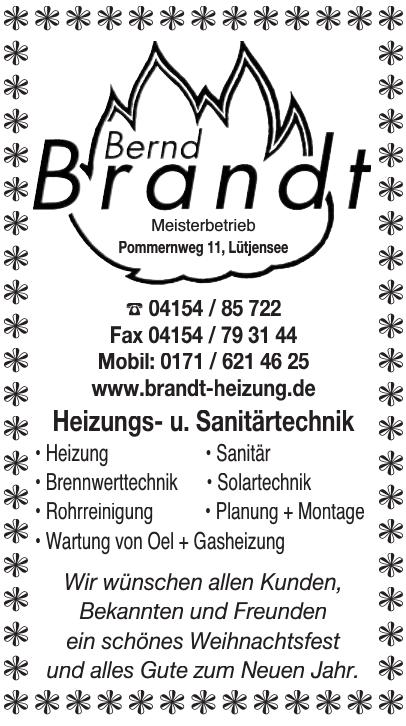 Bernd Brandt Meisterbetrieb