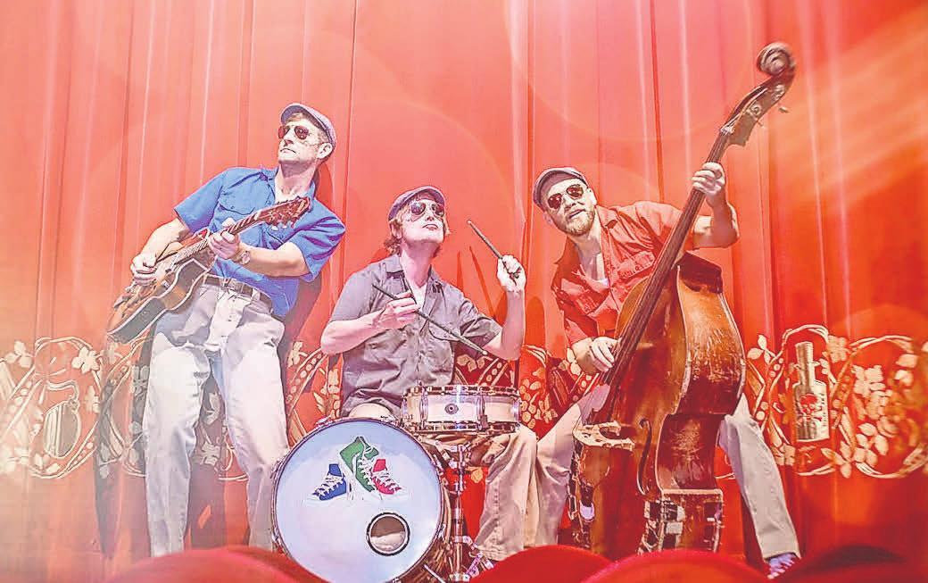 Die Rockhouse Brothers bringen am Freitag Rock 'n' Roll auf die Bühne.