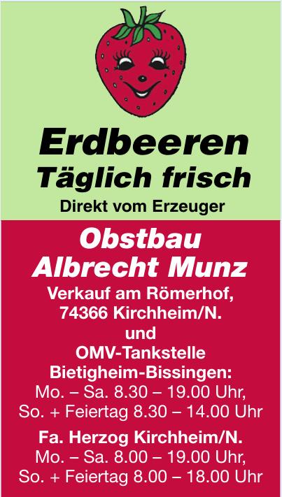Obstbau Albrecht Munz