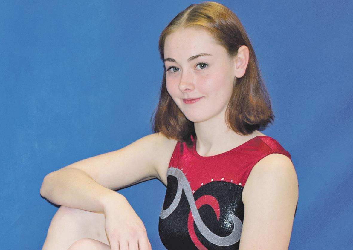 Erfolgreiche Trampolinturnerin: Caroline Huth engagiert sich außerdem ehrenamtlich in der SV Groß Schwülper.