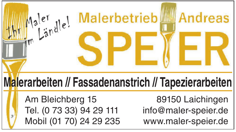 Malerbetrieb Andreas Speier