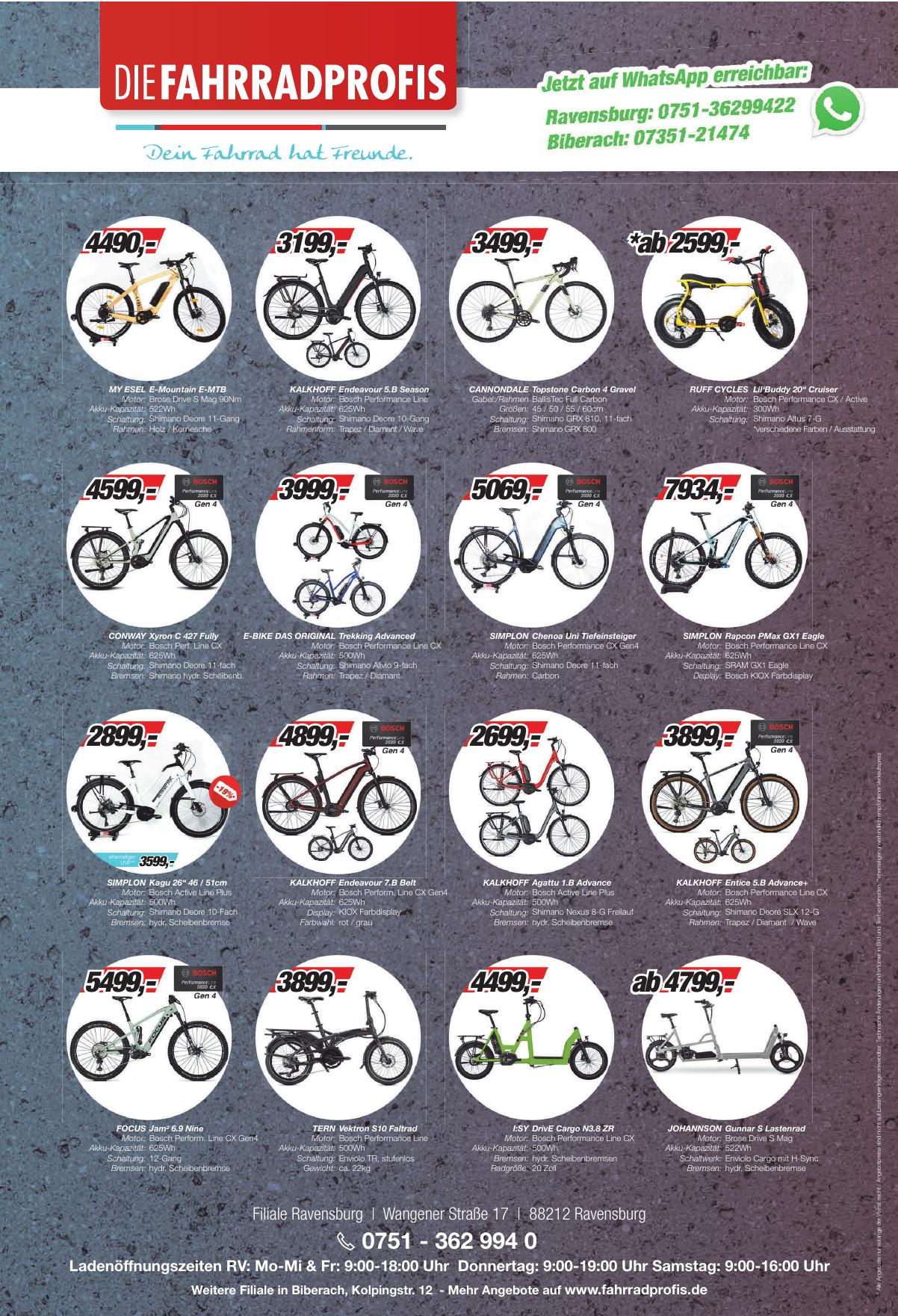 Die Fahrradprofis