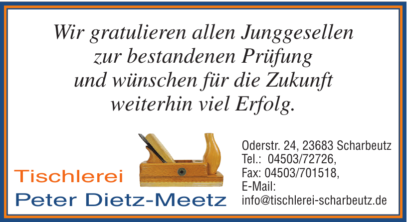 Tischlerei Peter Dietz-Meetz