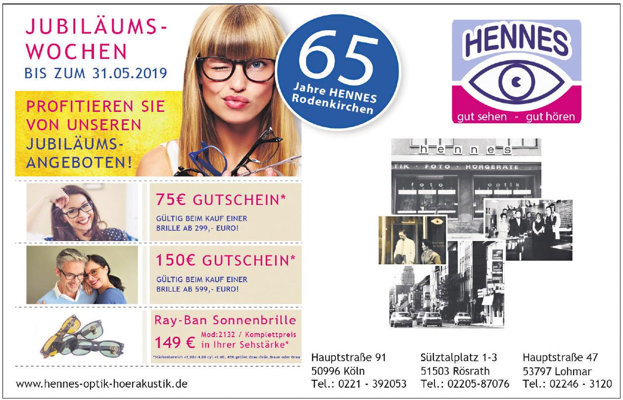 HENNES Optik und Hörgeräte