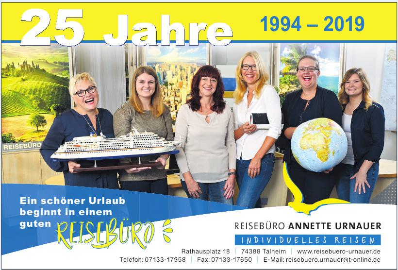 Reisebüro Annette Urnauer