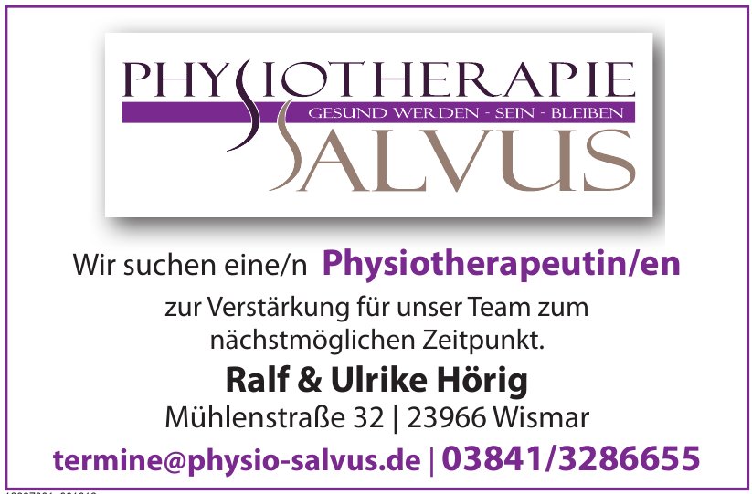 Physiotherapie Salvus