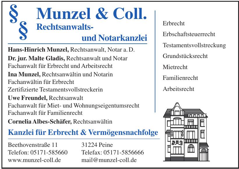 Munzel & Coll. Rechtsanwaltsund Notarkanzlei