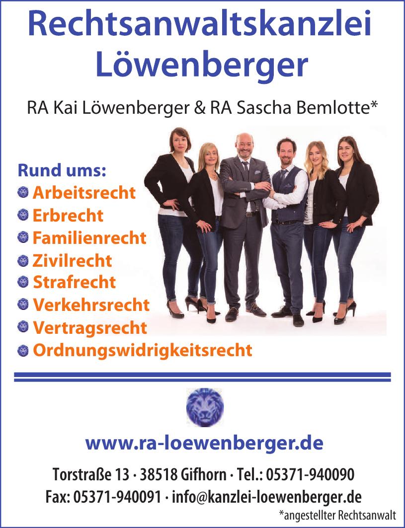 Rechtsanwaltskanzlei Löwenberger