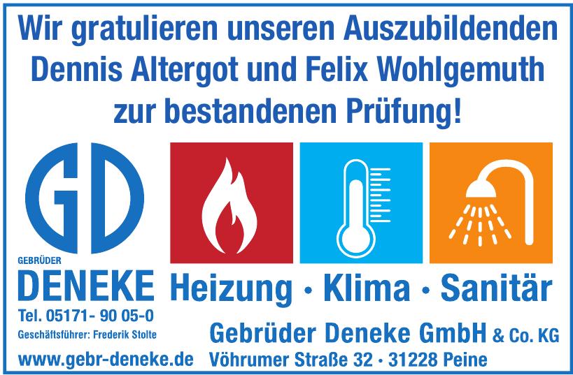 Gebr. Deneke GmbH & Co KG