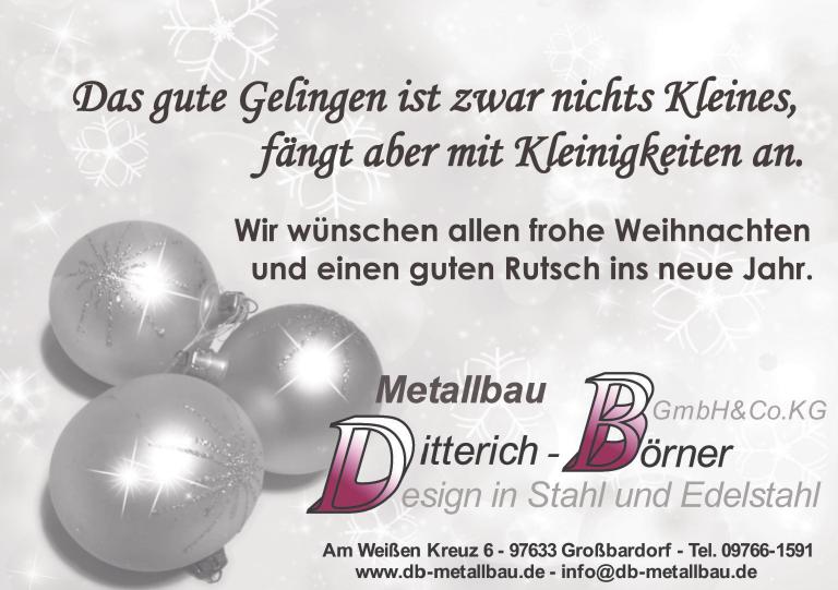 Metallbau Ditterich Börner
