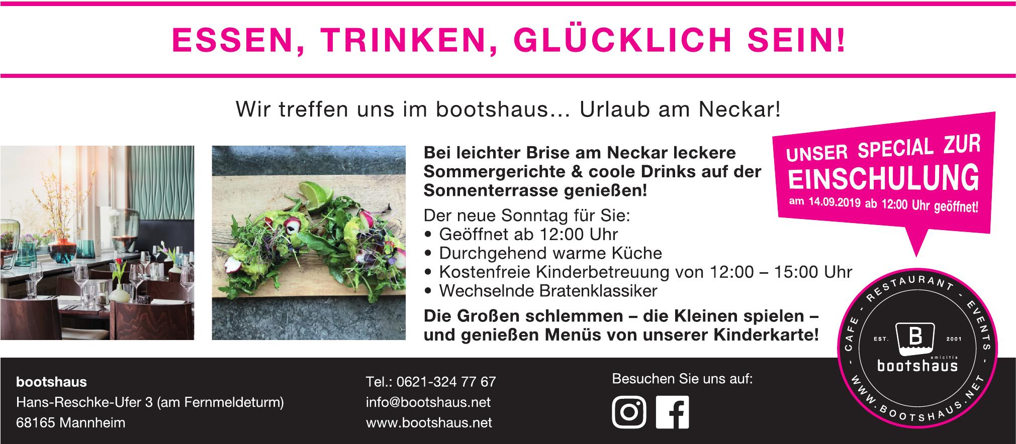 bootshaus - Café Restaurant Events, KUL Gastro GmbH